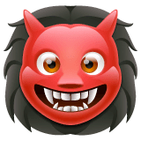 Ogre Emoji on WhatsApp