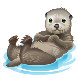 Otter Emoji on WhatsApp