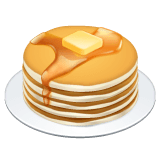 Pancakes Emoji on WhatsApp