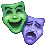 Performing Arts Emoji on WhatsApp