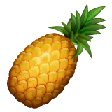 Pineapple Emoji on WhatsApp