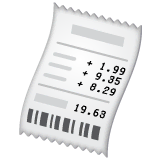 Receipt Emoji on WhatsApp