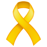 Reminder Ribbon Emoji on WhatsApp