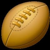 Rugby Football Emoji on WhatsApp