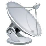 Satellite Antenna Emoji on WhatsApp