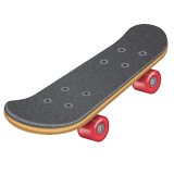 Skateboard Emoji on WhatsApp