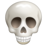 Skull Emoji on WhatsApp
