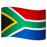 South Africa Emoji on WhatsApp