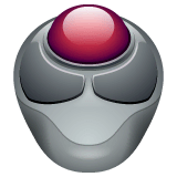 Trackball Emoji on WhatsApp