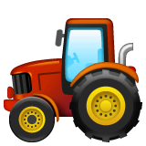 Tractor Emoji on WhatsApp