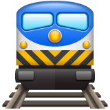 Train Emoji on WhatsApp