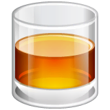 Tumbler Glass Emoji on WhatsApp