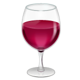 Wine Glass Emoji on WhatsApp