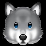 Wolf Emoji on WhatsApp