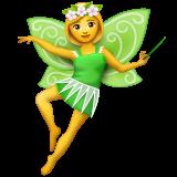 Woman Fairy Emoji on WhatsApp