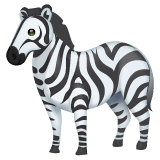 Zebra Emoji on WhatsApp