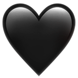 🖤 Black Heart Emoji — Meaning, Copy & Paste 🖤 Black Heart Emoji — Meaning, Copy & Paste Black Things black color heart emoji meaning
