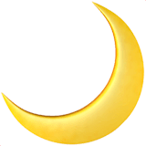 Crescent Moon Emoji Meaning Copy Paste