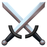 ⚔ Crossed Swords Emoji — Meaning, Copy & Paste