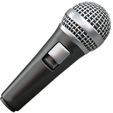 🎤 Microphone Emoji — Meaning, Copy & Paste