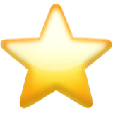 ⭐ Star Emoji — Meaning, Copy & Paste