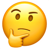Thinking Face Emoji Meaning Copy Paste