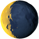 Waning Crescent Moon Emoji Meaning Copy Paste