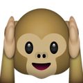 Monkey Holding Ears