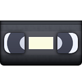 video tape emoji